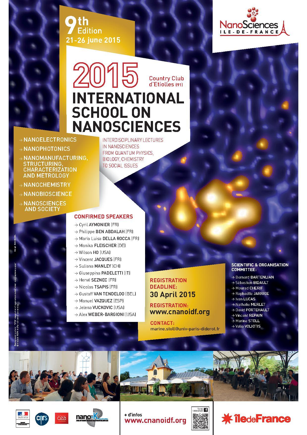 International school on nanosciences