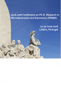 2016 06 12th Conference on PhD Research in Microelectronics and Electronics