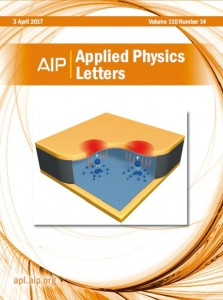 2017 04 AIP Applied Physics Letters Volume 110